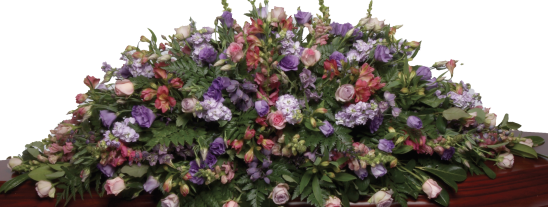 Seasonal Double Ended Medium Size Mixed Seasonal Flowers